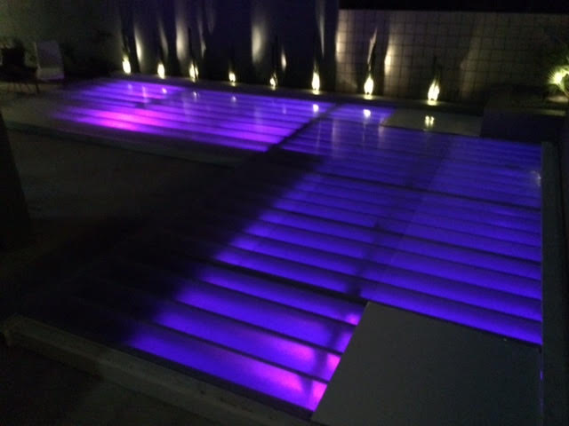 Plexi Glass Acrylic Dance Floor Pool Coverup Dance