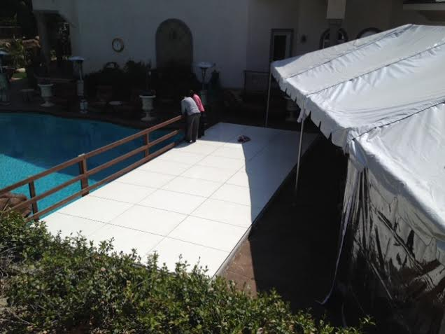 Plexi Glass Acrylic Dance Floor Pool Cover Staging Los