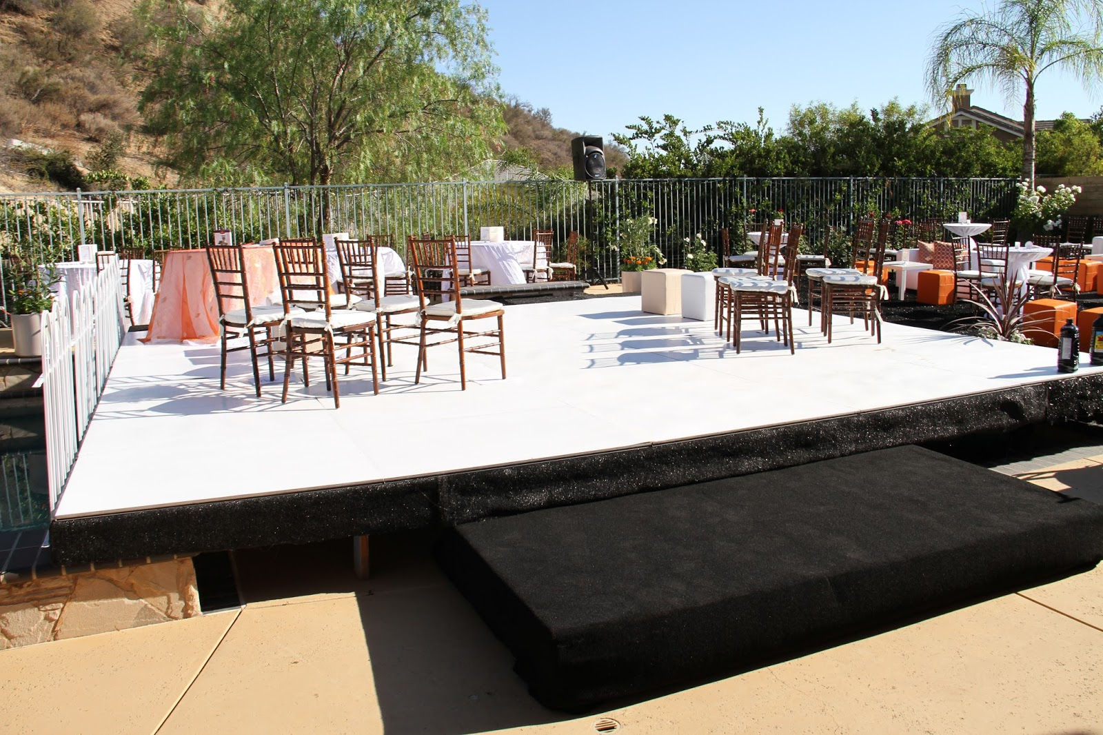 Dance floor on top of your swimming pool for rent los - Best swimming pools in los angeles ...