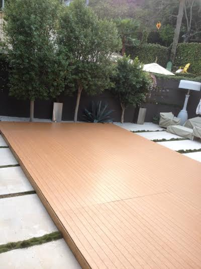 Dance Floor On top of Your Swimming Pool For Rent Los ...